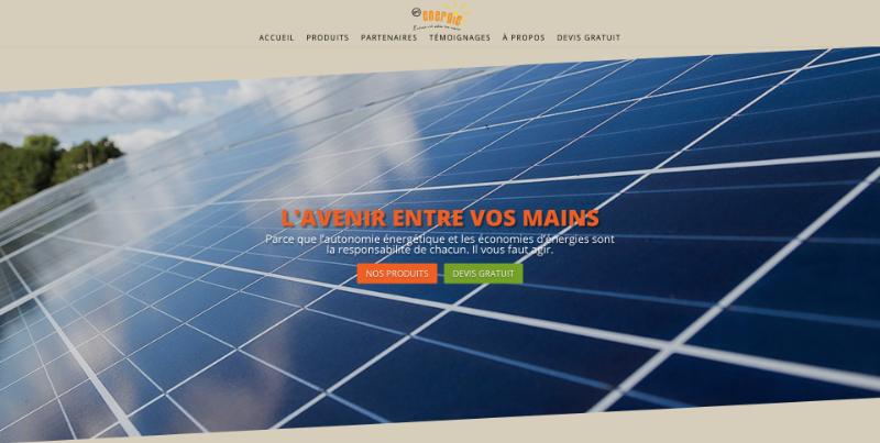 Site web Art Energie